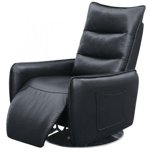 Zdjęcie produktu Fotel wypoczynkowy Lergo - czarny.
