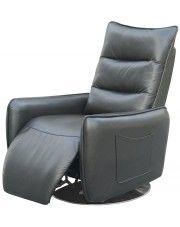 Rozkładany fotel Lergo - popielaty