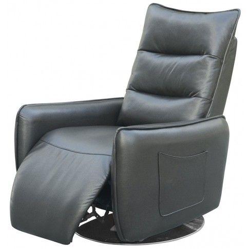Zdjęcie produktu Rozkładany fotel Lergo - popielaty.