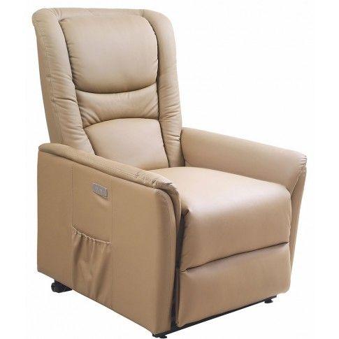 Zdjęcie produktu Podgrzewany fotel masujący Tanos - beżowy.