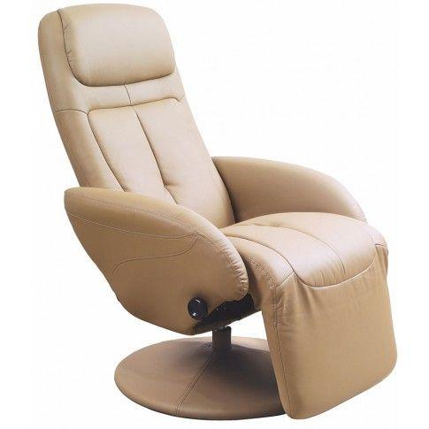 Zdjęcie produktu Rozkładany fotel Timos - beżowy.