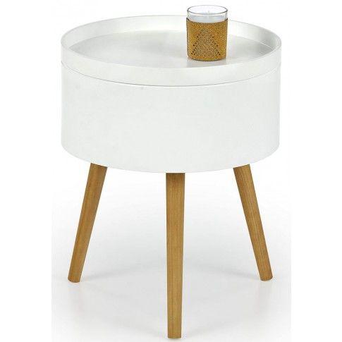Zdjęcie produktu Okrągła ława biała Viva.
