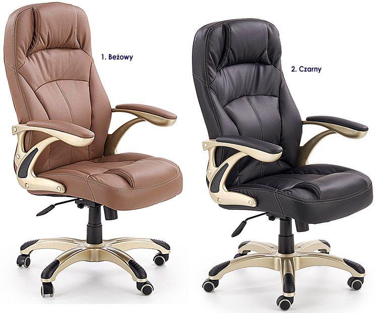Obrotowe krzesło do biura, gabinetu Karel