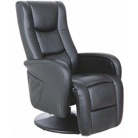 Zdjęcie produktu Fotel rozkładany Litos - czarny.