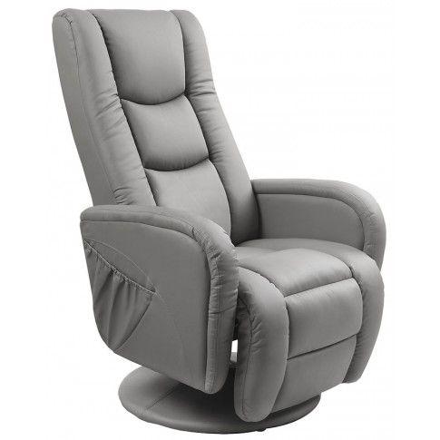 Zdjęcie produktu Fotel wypoczynkowy Litos - popielaty.