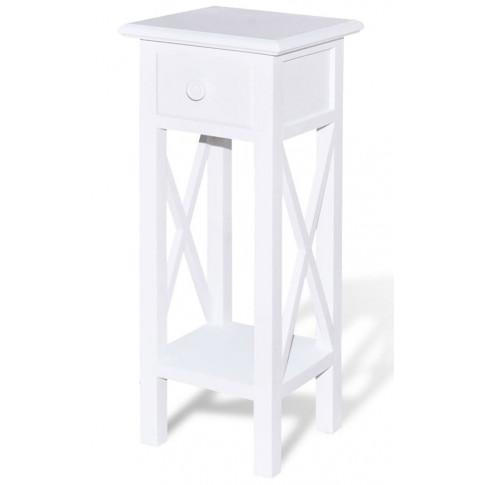 Biały stolik Kroton