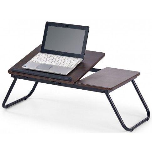 Zdjęcie produktu Regulowany stolik pod laptopa Lavix - ciemny orzech.