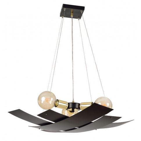 Nowoczesna czarna lampa wisząca D010-Anders