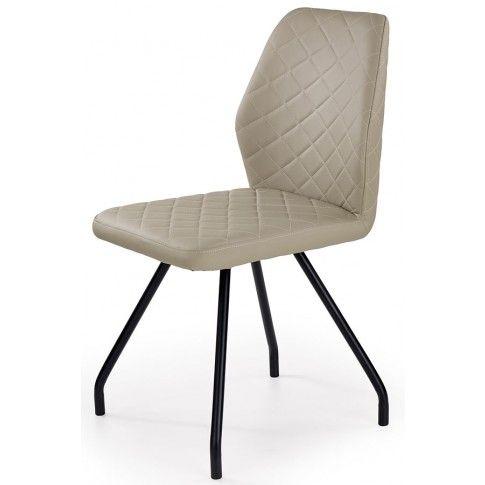 Zdjęcie produktu Krzesło tapicerowane Adeks - cappuccino.