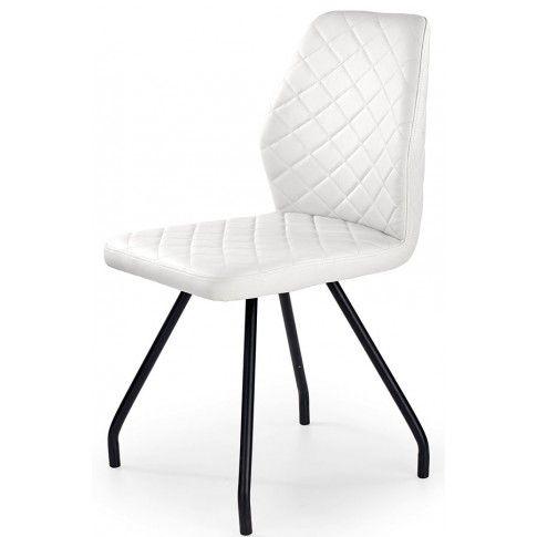 Zdjęcie produktu Krzesło minimalistyczne Adeks - białe.