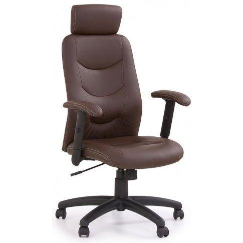 Zdjęcie produktu Fotel obrotowy Stellar - brązowy.