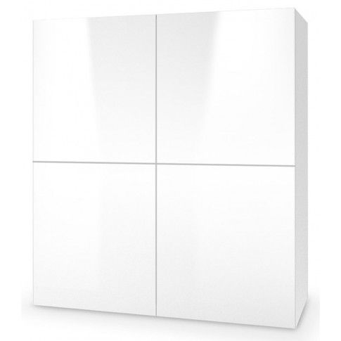 Zdjęcie produktu Nowoczesna komoda Vomes 2X - biały połysk.