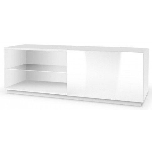 Zdjęcie produktu Szafka RTV z oświetleniem Vomes 4X - biały połysk.