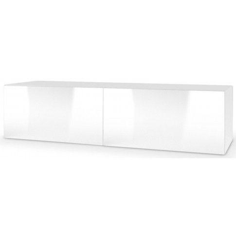 Zdjęcie produktu Wisząca szafka RTV Vomes 7X - biały połysk.