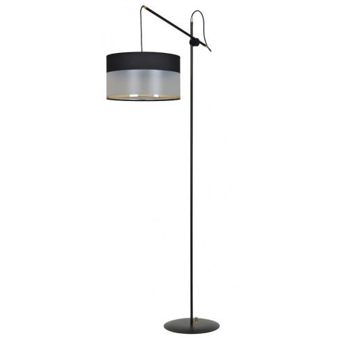 Czarno nowoczesna lampa podłogowa D042-Ardos