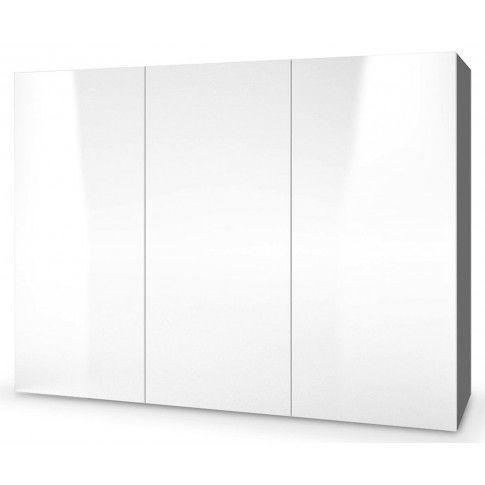 Zdjęcie produktu Komoda wisząca Vomes 3X - biały połysk + popiel.