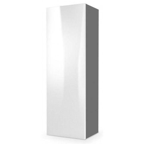 Zdjęcie produktu Szafka wisząca Vomes 8X - biały połysk + popiel.
