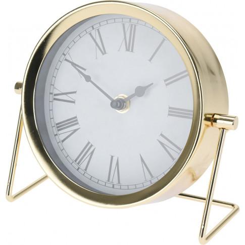 Złoty zegar Antono do gabinetu