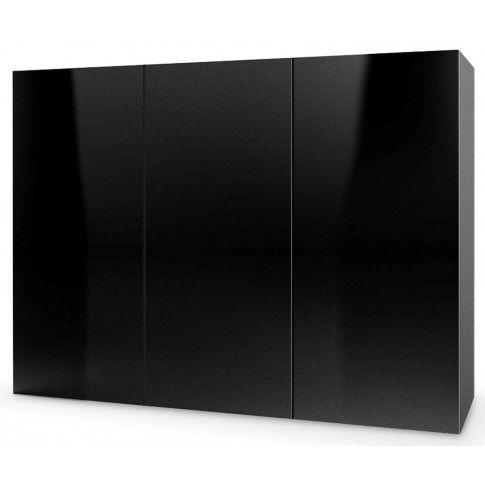 Zdjęcie produktu Komoda wisząca Vomes 3X - czarny połysk.