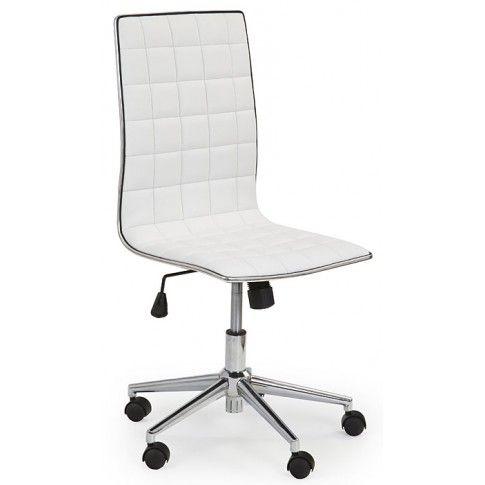 Zdjęcie produktu Fotel obrotowy Polin - biały.