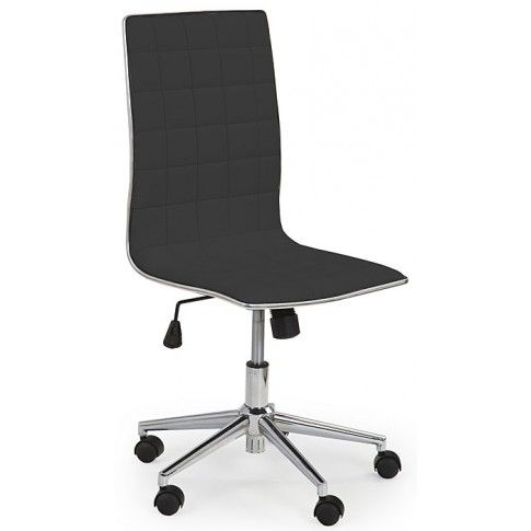 Zdjęcie produktu Fotel obrotowy Polin - czarny.