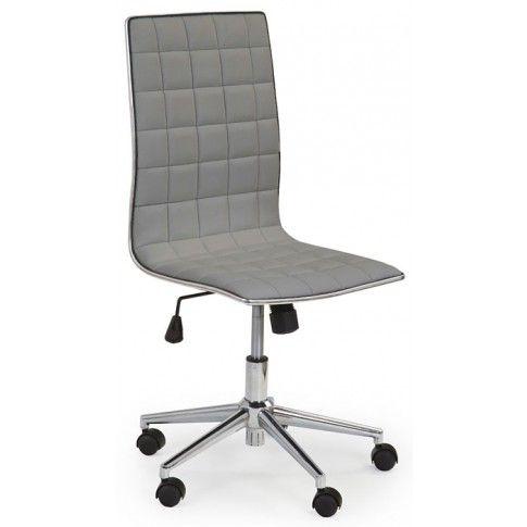 Zdjęcie produktu Fotel obrotowy do biura Polin - popiel.