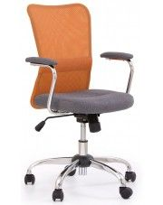 Fotel młodzieżowy Alwer - pomarańczowy