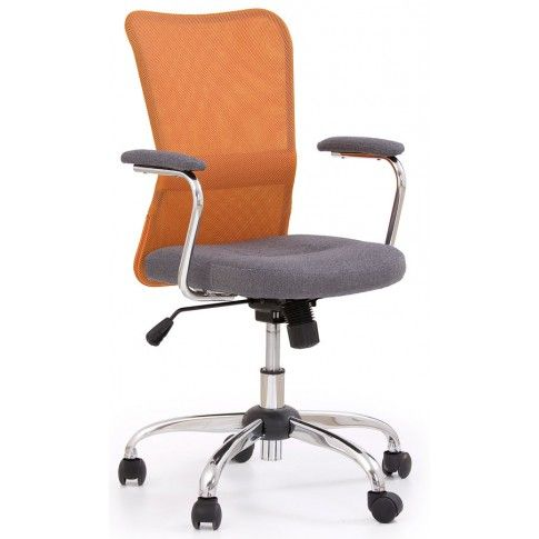 Zdjęcie produktu Fotel młodzieżowy Alwer - pomarańczowy.