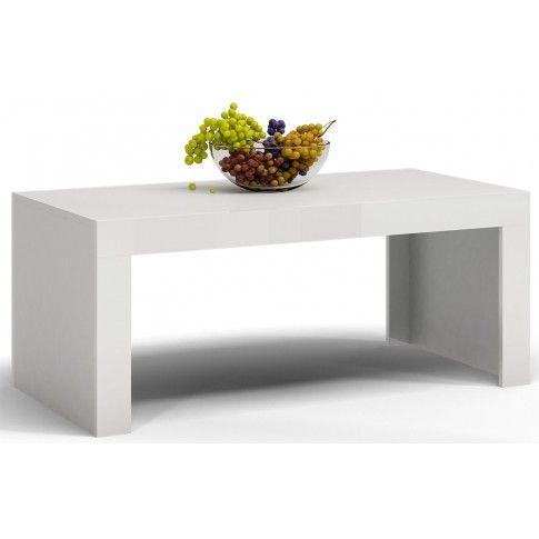 Zdjęcie produktu Ława Elina - biały mat + biały połysk.