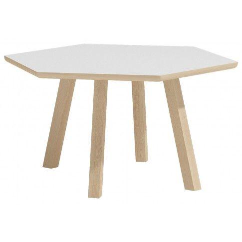 Zdjęcie produktu Skandynawski stolik kawowy Lindo 8X - biały.