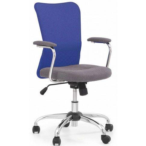 Zdjęcie produktu Fotel młodzieżowy Alwer - niebieski.