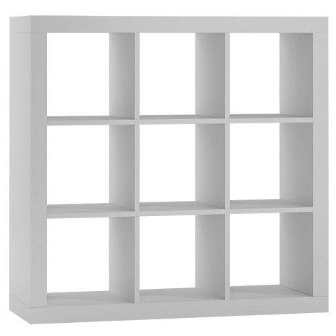 Zdjęcie produktu Regał kwadrat Idris 4X - biały.