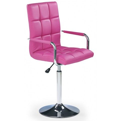 Zdjęcie produktu Fotel młodzieżowy Amber - różowy.