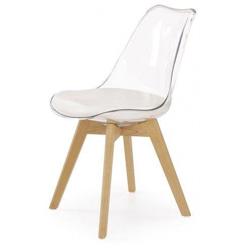 Zdjęcie produktu Przezroczyste krzesło stylowe Edwin.