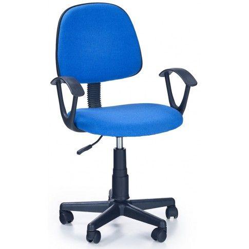 Zdjęcie produktu Fotel młodzieżowy Bomer - niebieski.