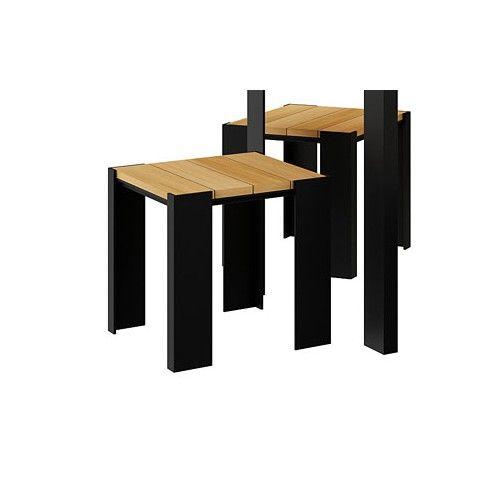 Zdjęcie produktu Drewniany taboret ogrodowy Redis- 24 kolory .