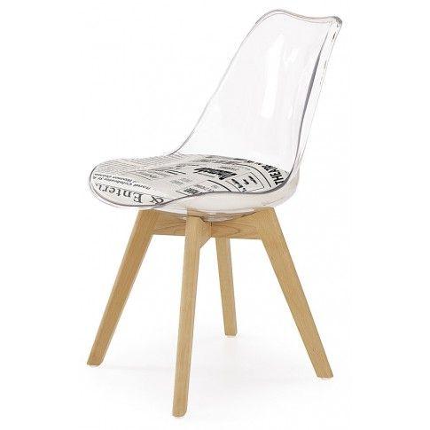 Zdjęcie produktu Przezroczyste krzesło Edwin 2X.