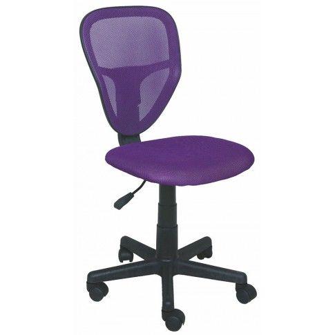 Zdjęcie produktu Fotel młodzieżowy Chester - fioletowy.