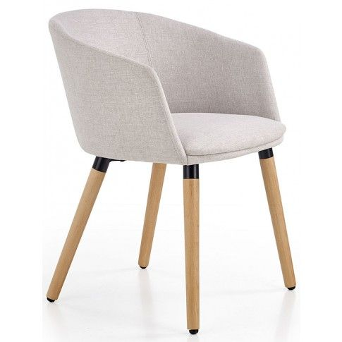 Zdjęcie produktu Krzesło drewniane Nevil - jasny popiel.