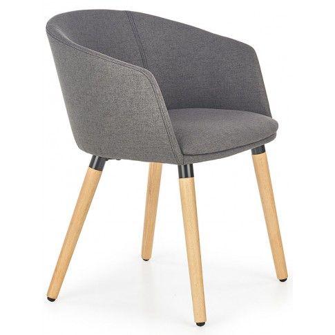 Zdjęcie produktu Krzesło skandynawskie Nevil - ciemny popiel.