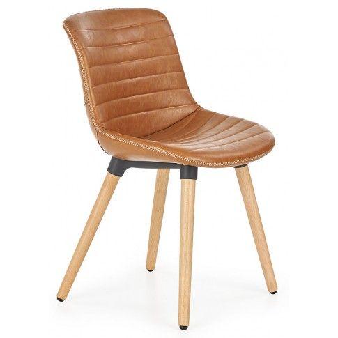 Zdjęcie produktu Krzesło drewniane Lorien - brązowe.