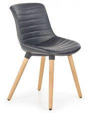 Krzesło drewniane Lorien - czarne w sklepie Edinos.pl
