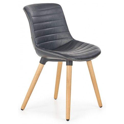 Zdjęcie produktu Krzesło drewniane Lorien - czarne.