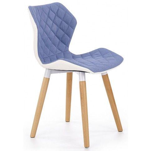 Zdjęcie produktu Krzesło drewniane Kilmer - niebieskie.