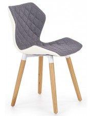 Krzesło tapicerowane Kilmer - popielate