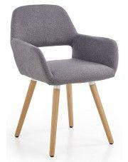 Krzesło drewniane Odeon - popiel