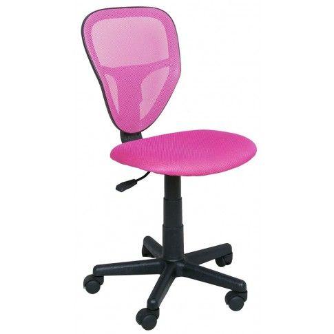 Zdjęcie produktu Fotel młodzieżowy Chester - różowy.