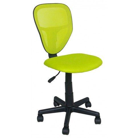 Zdjęcie produktu Fotel młodzieżowy Chester - zielony.