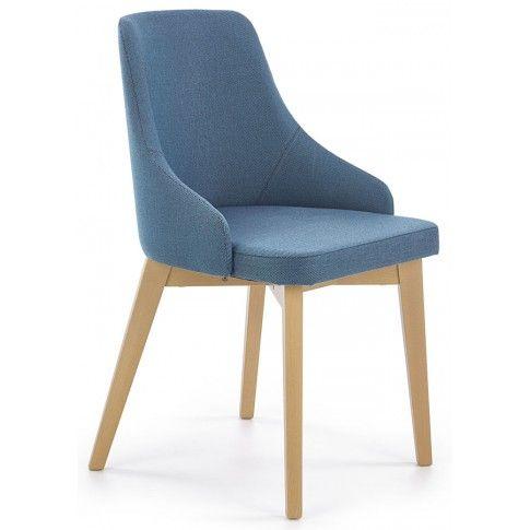 Zdjęcie produktu Krzesło drewniane Altex - turkusowe.