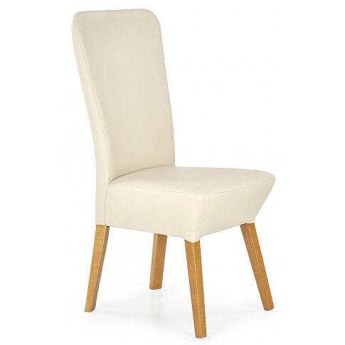 Zdjęcie produktu Krzesło drewniane Sufix 2X - kremowe.